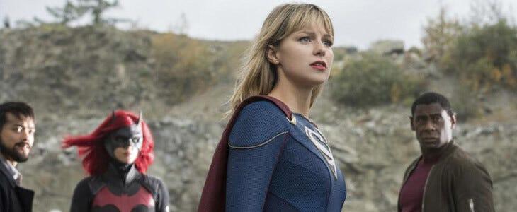 Supergirl et Batwoman dans le crossover de l'Arrowverse