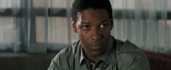 Denzel Washington : portrait.