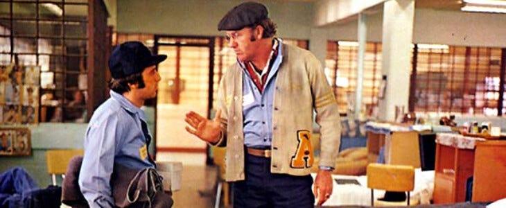 L'Epouvantail, avec Al Pacino et Gene Hackman.