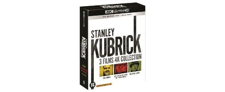 Coffret Kubrick 3 films.