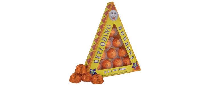 Découvrez les bonbons explosifs sur The Harry Potter Shop !
