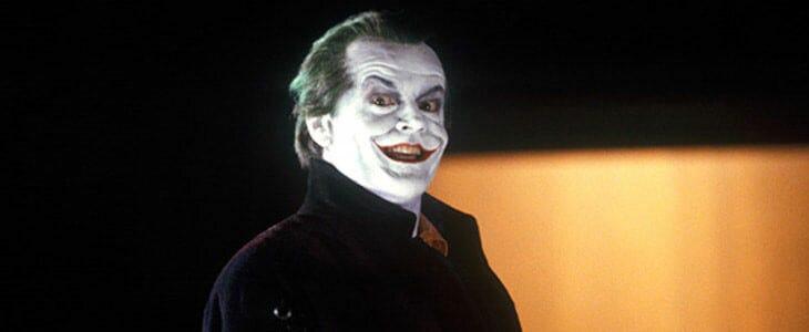 Jack Nicholson, dans le Batman de Tim Burton.