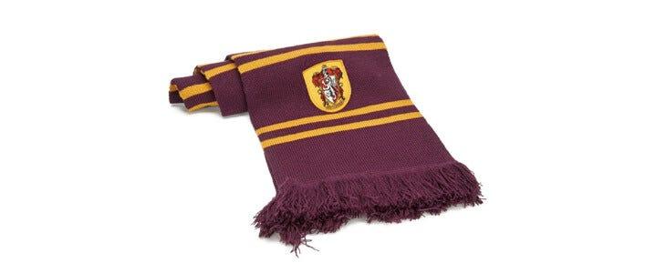 Retrouvez cette écharpe Gryffondor sur la boutique officielle Wizarding World.