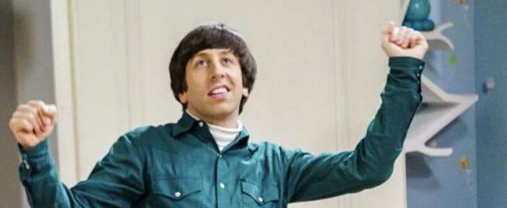 Howard, dans The Big Bang Theory.