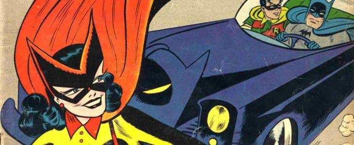 Batwoman, Batman et Robin dans les comics