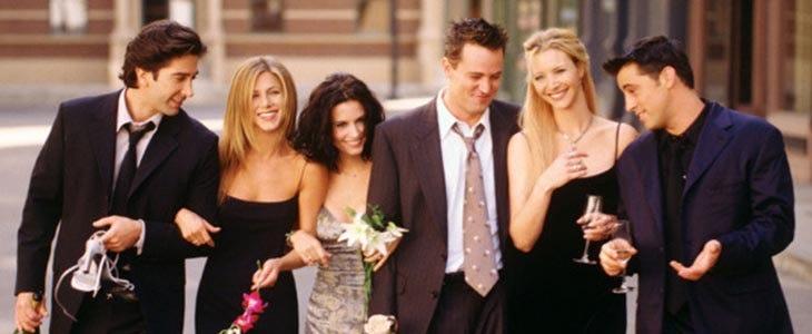 La bande de Friends;