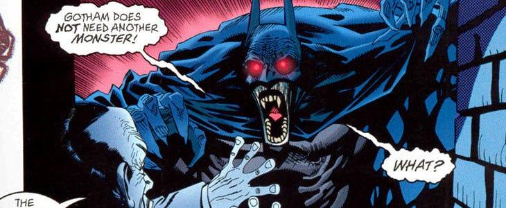 Batman vampire.