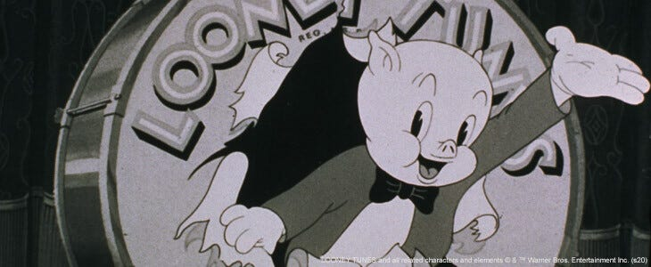 Porky Pig, personnage des Looney Tunes
