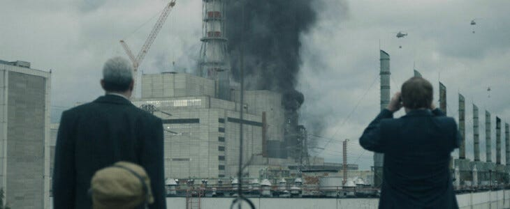 Chernobyl, gagnante des Golden Globes 2020.