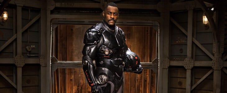 Idris Elba dans le blockbuster Pacific Rim