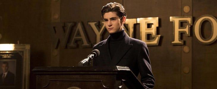 David Mazouz dans Gotham