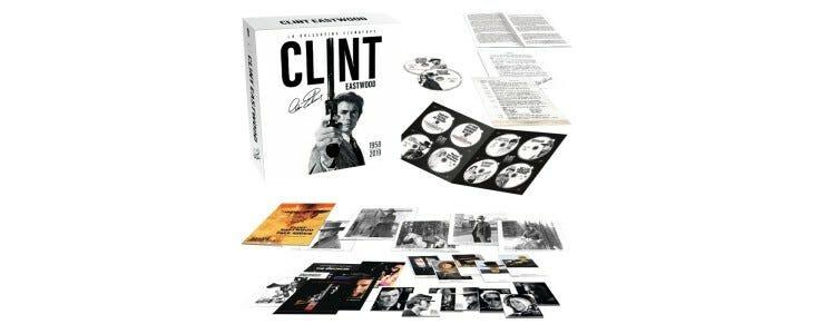 Coffret Eastwood 63 films.