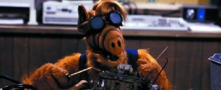 Alf, l'extraterrestre culte.