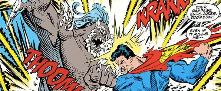 Doomsday face à Superman
