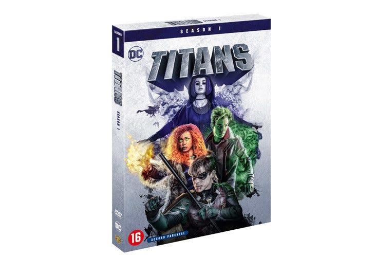 Le DVD de Titans saison 1 est disponible