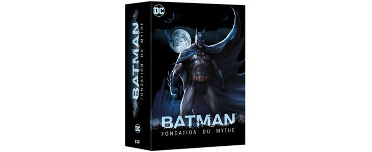 Coffret Batman Fondation du Mythe