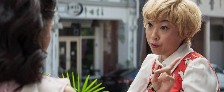 Awkwafina dans Crazy Rich Asians
