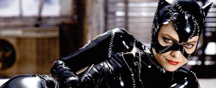 Michelle Pfeiffer en Catwoman.