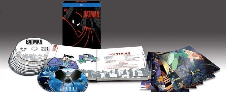 L'incontournable Batman, la série animée est à redécouvrir dans un coffret deluxe en Blu-Ray !