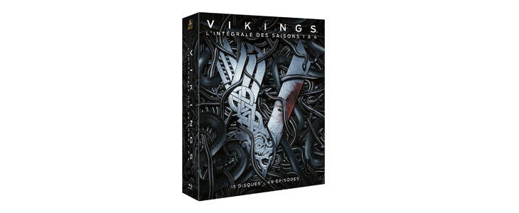 Retrouvez les quatre premières saisons de Vikings dans ce coffret !
