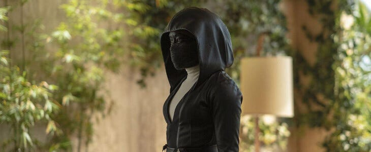 Regina King incarne Angela Abar dans Watchmen.