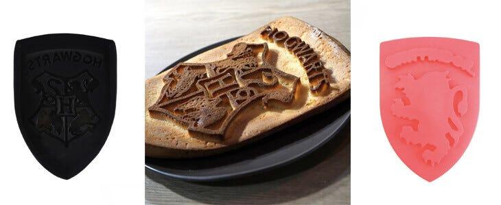 Moule à Gâteaux Harry Potter