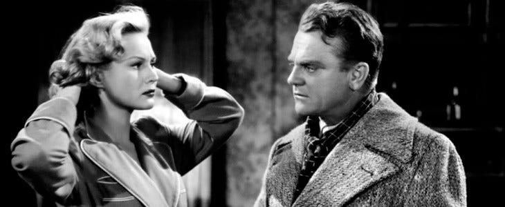 L'Enfer est à lui - James Cagney et Virginia Mayo