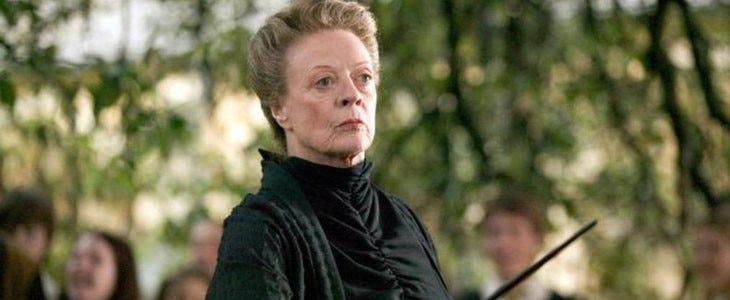 Maggie Smith dans Harry Potter et la Coupe de Feu