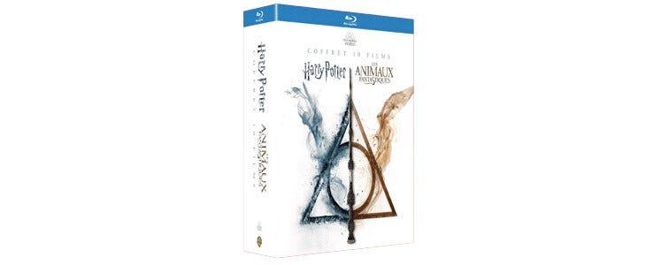 Retrouvez les sagas Harry Potter et Les Animaux Fantastiques dans ce coffret Wizarding World en Blu-Ray !