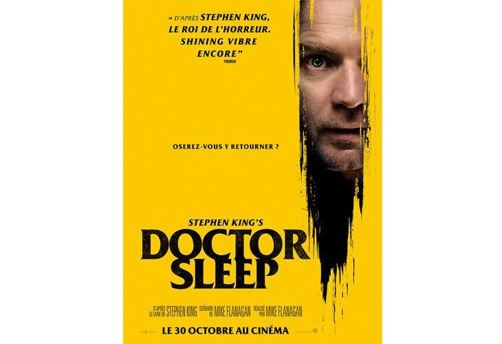 Affiche pour Doctor Sleep avec Ewan McGregor