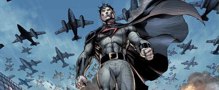 Superman sur la planète 10, où les nazis ont gagné la 2nd Guerre mondiale