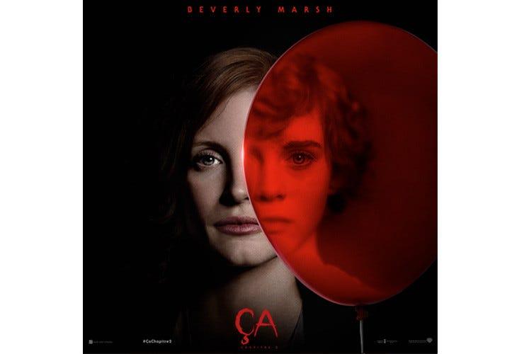 Jessica Chastain et Sophia Lillis dans Ça : Chapitre 2